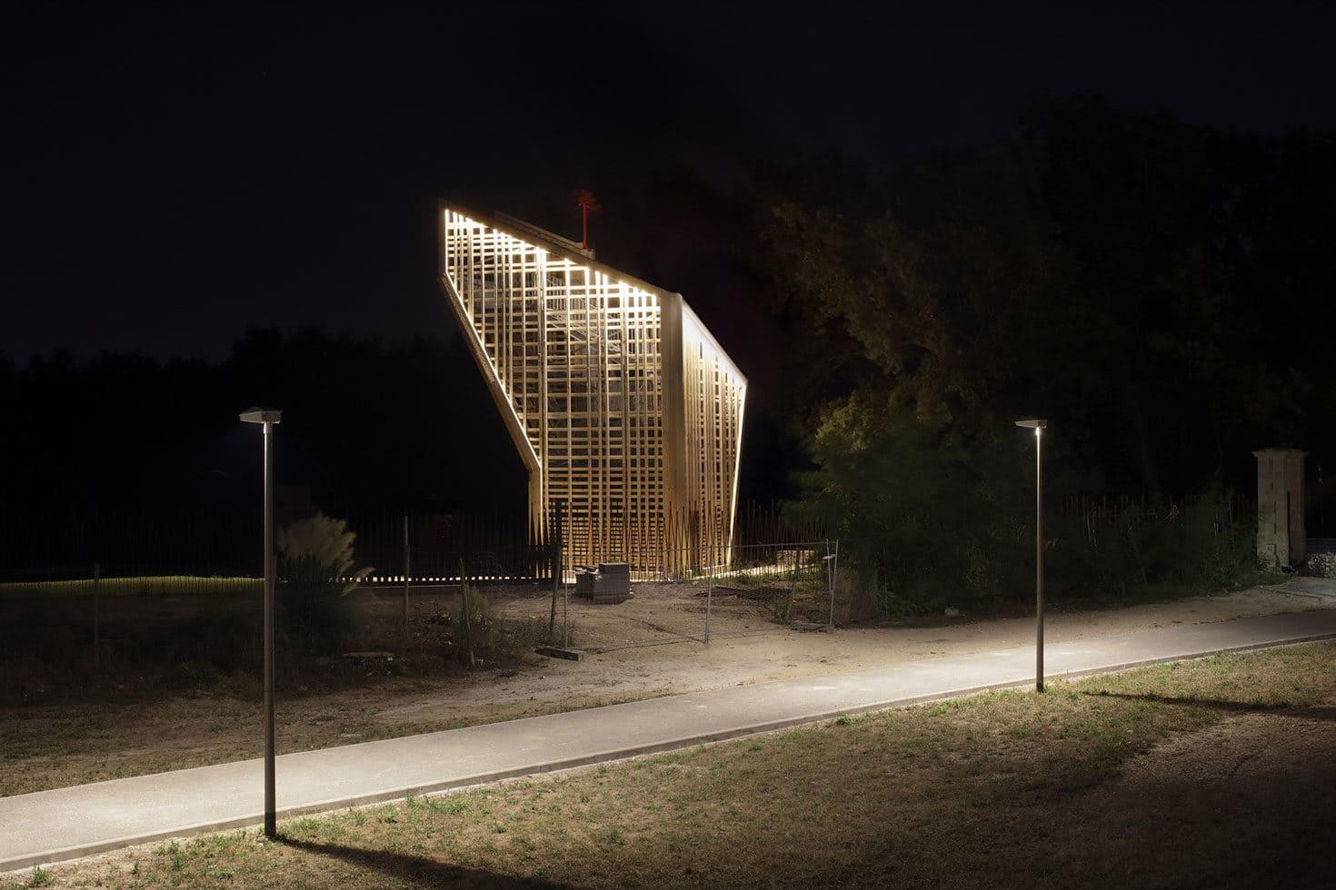 Création d'un Belvédère et conception lumière