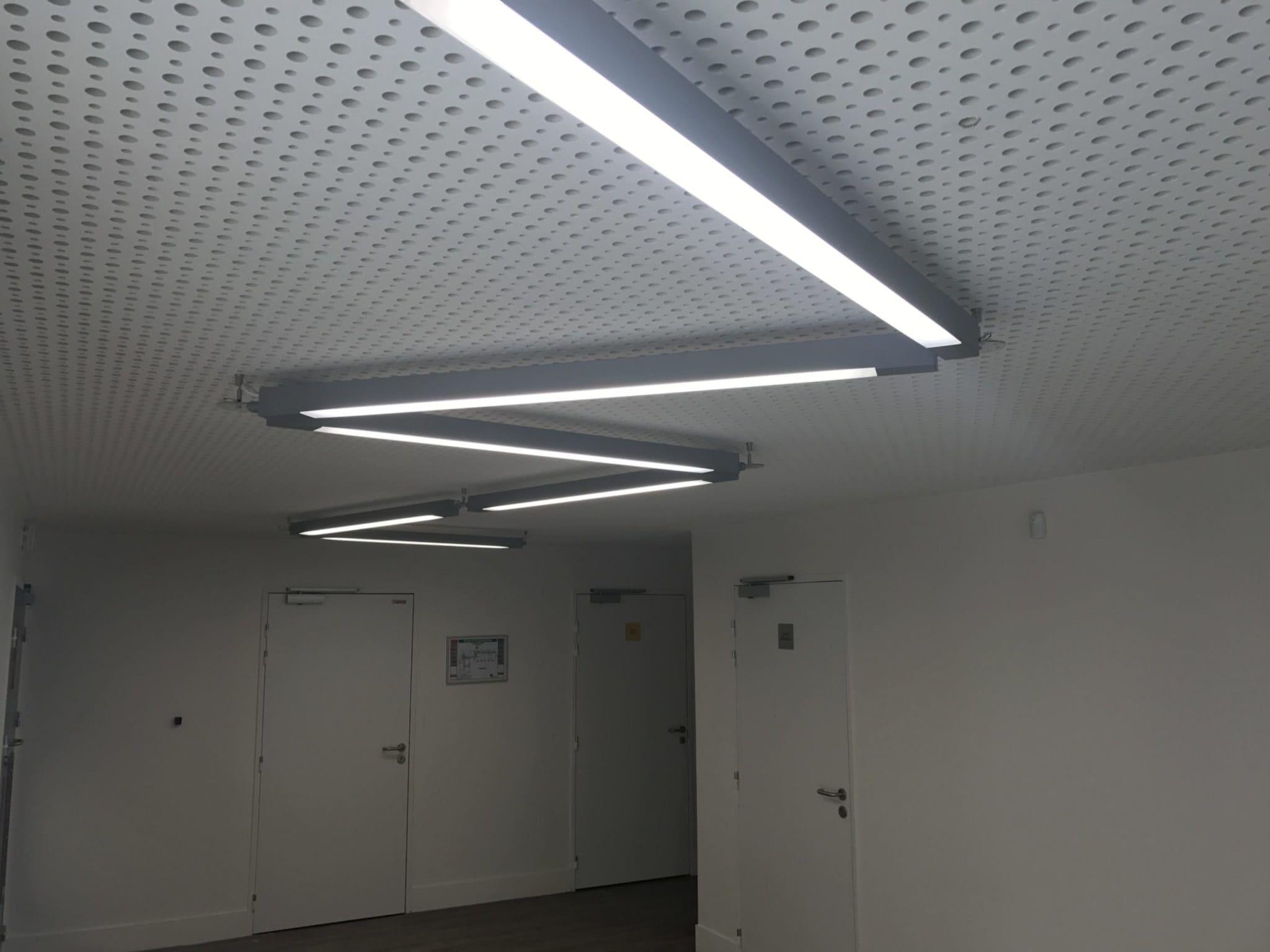 Etude d'éclairage du centre de loisir de Tigery