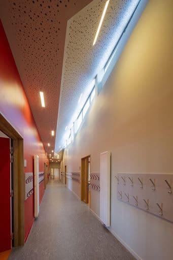 Conception de l'éclairage du groupe scolaire Pierre Perret