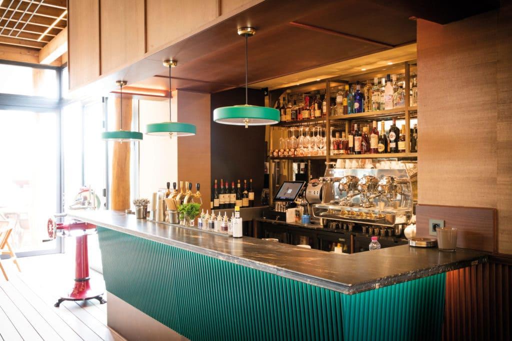 Light design restaurant