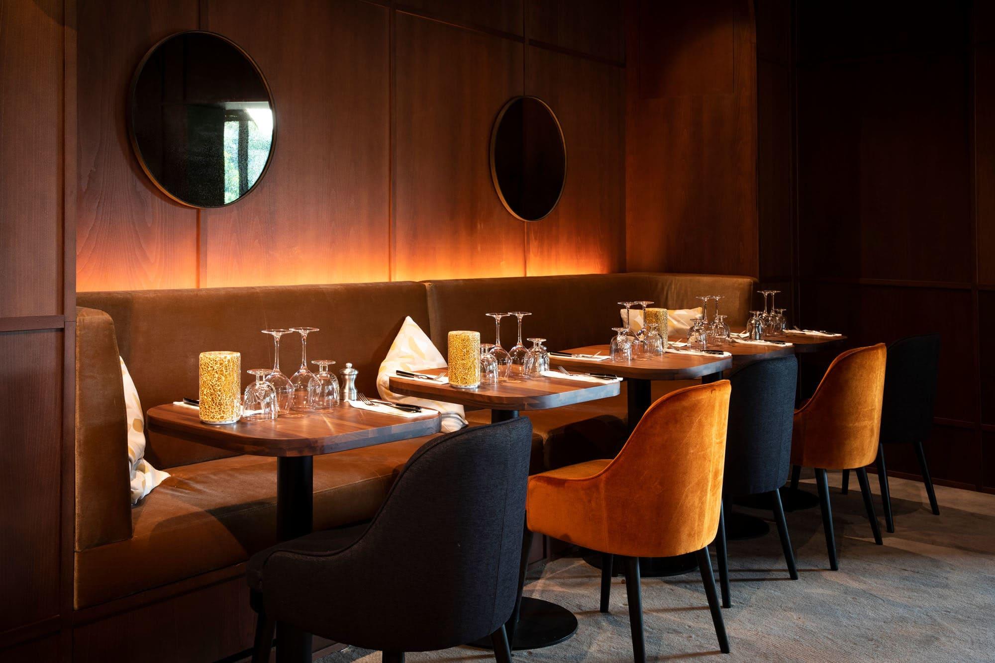 Light design du restaurant Les Bistrots Parisiens