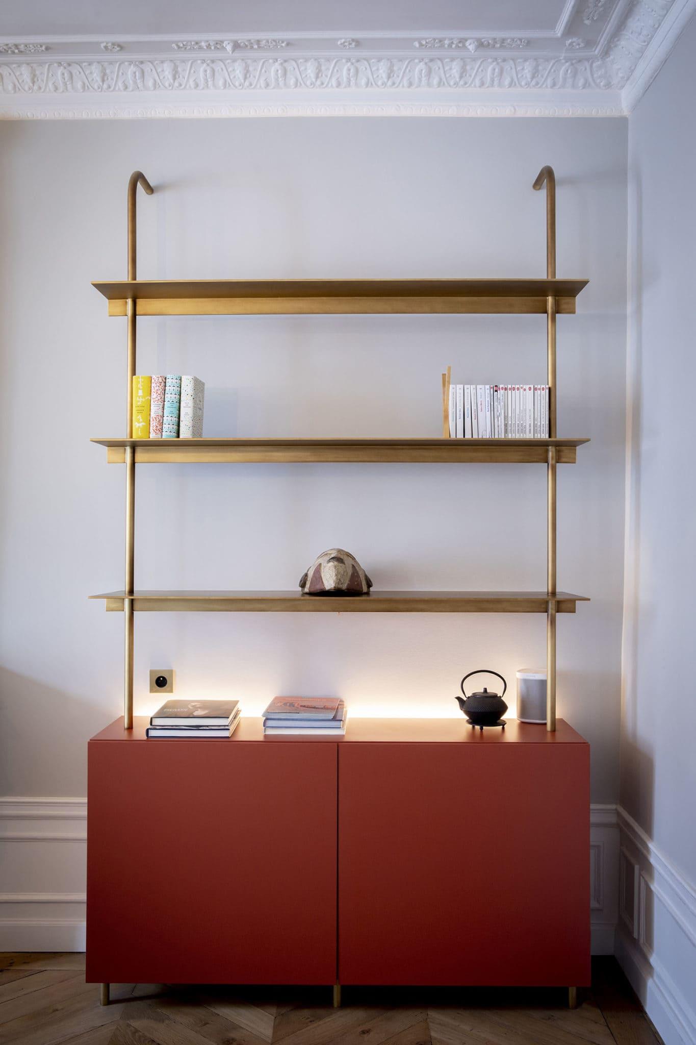 Light design étagères et bibliothèque particulière