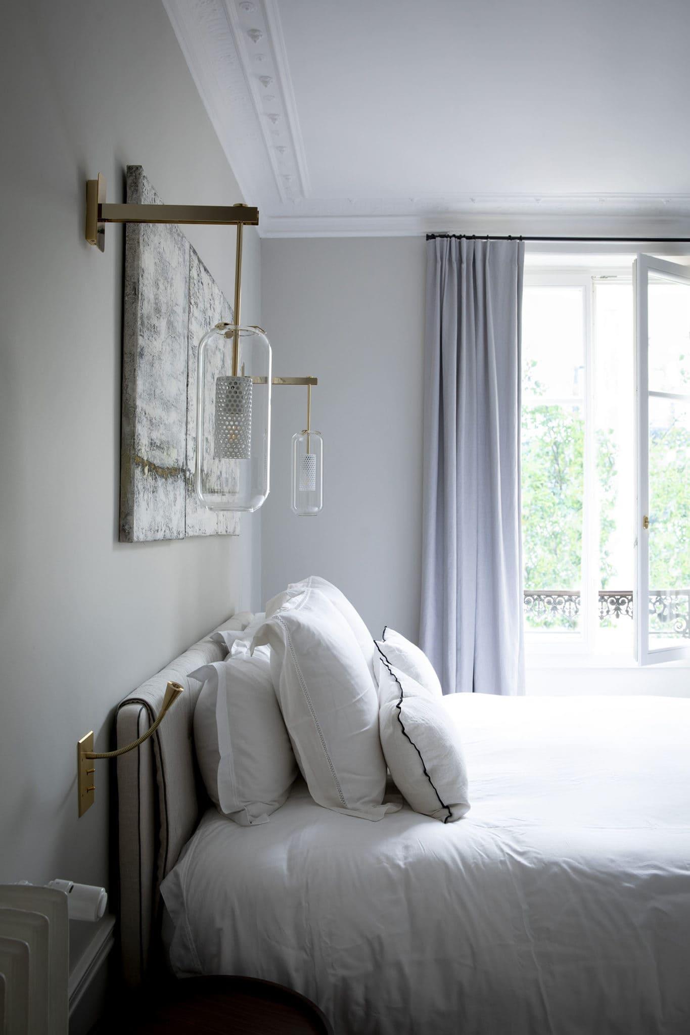 Light design et conception lumière d'une chambre à coucher