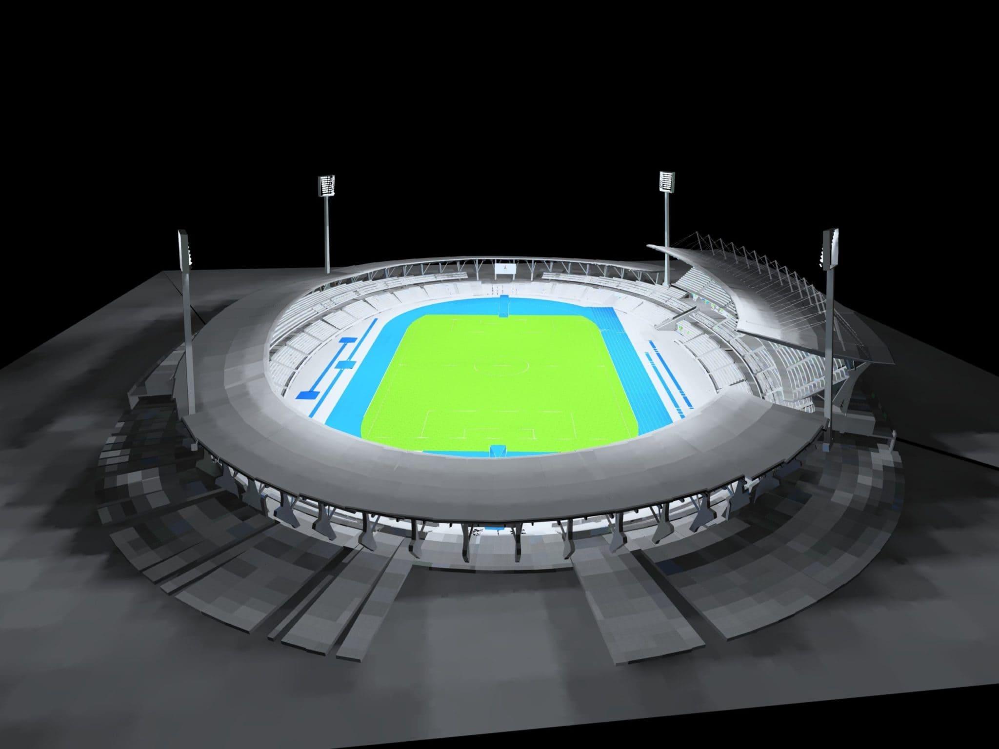 Light design pour le Stade Charlety