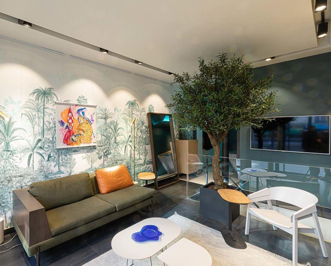 Showroom d'Amocosy boulevard Saint Germain (75005)